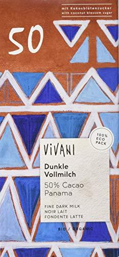 Vivani Dunkle Vollmilchschokolade (1 x 80 g)