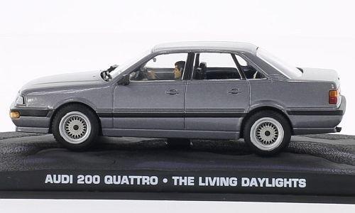 Audi 200 Quattro, metallic-grau, James Bond 007, Modellauto, Fertigmodell, SpecialC.-007 1:43