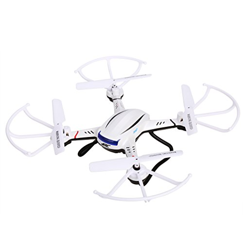 Arshiner JJRC H12C 2,4 GHz 4 CH 6-Achsen-Gyro RC Quadcopter Drone mit 5MP HD Kamera Headless Mode One Key Return Weiß