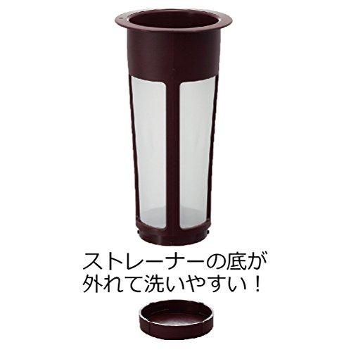 HARIO ハリオ 水出し コーヒーポット 1000ml コーヒードリップ 8杯用 ブラウン MCPN-14CBR