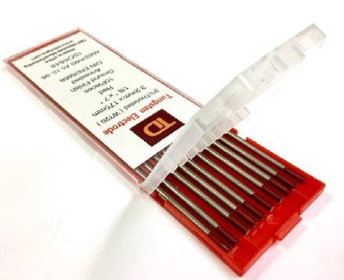 """Thoriated Tungsten TIG Welding Electrode 5/64""""x7"""""""