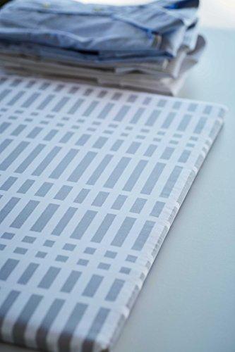 山崎実業北欧風暮らし定番平型アイロン台チェックグレー約W60XD36XH2cm1222