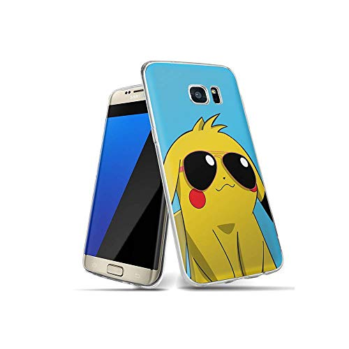 CBiBaMEi Samsung Galaxy S7 Hülle, Handyhülle TPU Silikon Weiche Clear Schutzhülle Transparent Flexibel Hülle Handy Hülle für Samsung Galaxy S7#D006