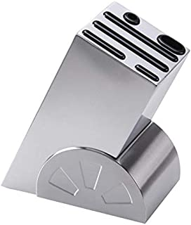 SCRFF Creative Oblique Couteau de Repos Porte en Acier Inoxydable Couteau de Cuisine Support de Rangement Inséré Couteau O...