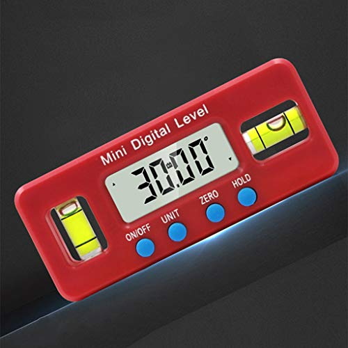 Lanema Magnetic Horizontal Angle Meter High Precision Electronic Digital Protractor Level Inclinometer 100mm