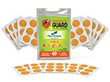 Mosquito Guard Repellent Stickers/Patches for Kids (60 Pack) Made with Natural Plant Based...