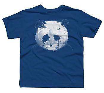 kungfu panda Boy s X-Large Royal Youth Graphic T Shirt - Design By Humans