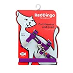 Cat Harness Red Dingo Classic Cat Harness and Lead Combo, Purple