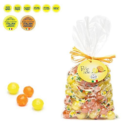 Harte Bonbons mit Zitrone und Orange 500 Gr. - Perle di Sole - Angebot 6 Stück