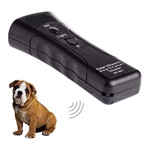 Ovanpa 2019 Best-Ultrasonic Anti Dog Barking Pet Trainer LED Light Gentle Chaser Petgentle Style