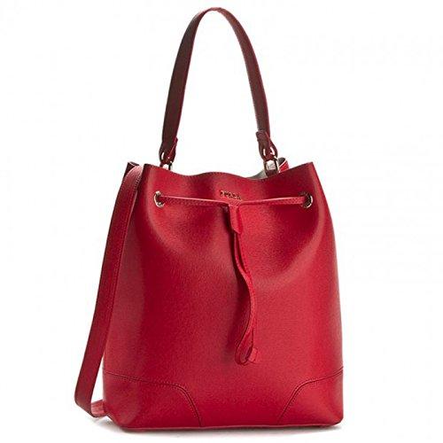 FURLA Women's Satchel red Ruby