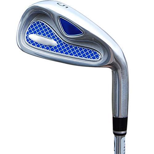 Herren Outdoor Sport Golf Putter Golfschläger Anfänger Set Eisen Set 4/5/6/8/9 / p/s Trainingseisen Langes Eisen Kurzes Eisen, Einfach zu bedienen und langlebig (Farbe : Steel Rod, Größe : 5)