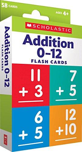 Flash Cards: Addition 0 - 12