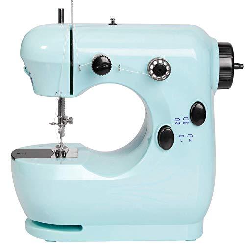 Sewing machine Blue,Embroidery machine,Beginner sewing machine,Mini sewing machine,Children sewing...