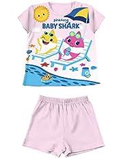 Pijama Baby Shark de 12 a 30 meses Verano 2021