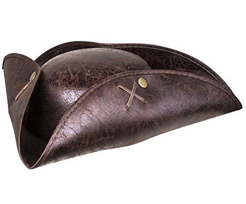 Boland 81940 - Sombrero de Pirata, Color marrón