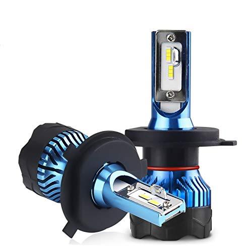 BAN SHUI JU MINSU GUANLI Faro Led H4 para Bombilla Súper LED Automática para Bombilla De Luz De Coche H1 H3 H7 LED H11 9005 9006 HB3 HB4 12000LM 12V Lámparas De Diodo Fácil Instalación