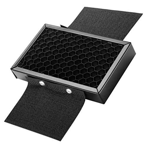 SOLUSTRE Reflector Octogonal Softbox Octagon Softbox Rejilla de Panal para Estudio Speedlite Flash Monolight Retrato Y Fotografía de Productos