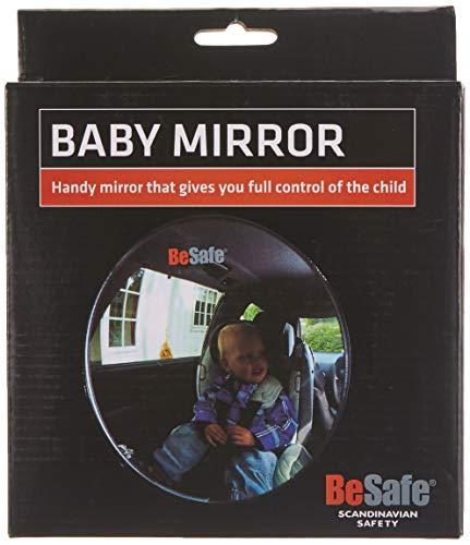 BeSafe - espejo retrovisor para bebés con forma de ojo de pez