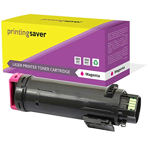 PRINTING SAVER Compatible Magenta Toner Cartridge 593-BBRV for Dell H625CDW H825CDW S2825CDN
