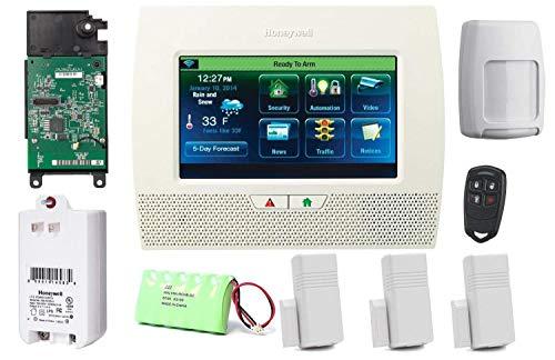 Honeywell Lynx Touch L7000 LTE Sicherheits-Alarmanlage mit LTE-L57V Verizon LTE Communicator