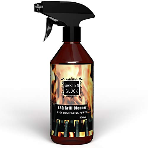 GARTEN GLÜCK Spray Limpia Barbacoas - Limpiador Barbacoa de Gas y Carbón,...