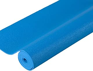 "j/fit Premium Sticky Yoga Mat (1/8"" Thick), 80-8672-ABL, Aqua Blue, 72-Inch"