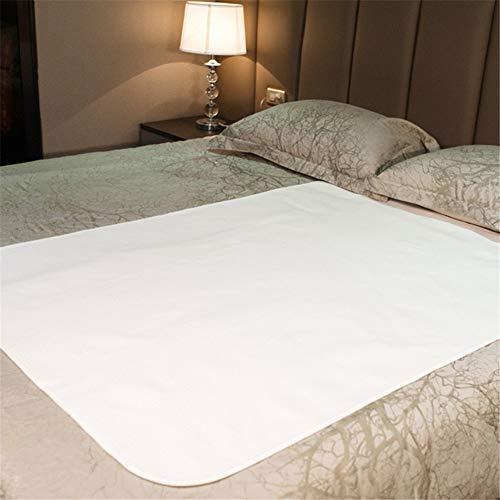 Wasbare waterdichte matrasbeschermer voor kinderen, huisdieren en senioren, ademende incontinentie-padhoes, verzorgingspad voor volwassenen, 100 * 140cm