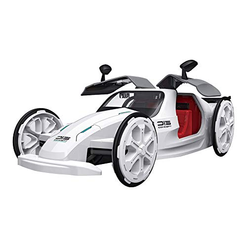 AUKE Solar Car Toys, DIY Eco-Engineering Science Assembly Vehicle ,Science Building Projects Cars Toy,Solar and Battery Powered 2 in 1,Set Gifts for 6-8,8-12 Year Old Boys and Girls
