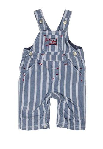 Kanz Baby-Jungen Jeans Latzhosen, Mehrfarbig (y/d Stripe Vertical Multicolored 0005), (Herstellergröße: 74)
