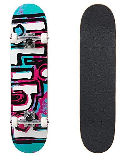 Blind Skateboard Complet Mid 7.25 OG Water Color Backpack Teal Purple