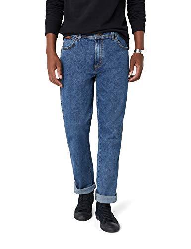 Wrangler Herren Texas Contrast' Jeans, Blau (Stonewash 010), 40W / 34L