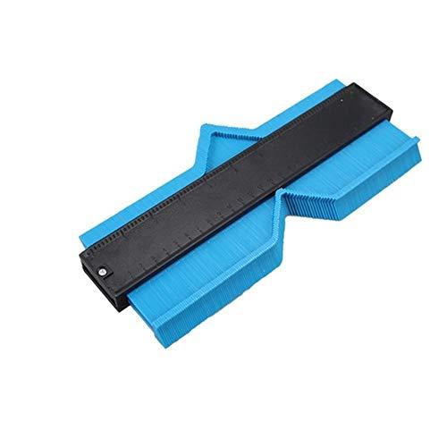 Medidor de forma del contorno de la duplicadora de contorno Duplicación Medidor de contorno plantilla de plástico de contorno de la duplicadora Perfil herramienta de medición Herramienta de medición