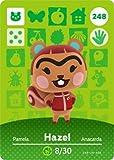 Hazel - Nintendo Animal Crossing Happy Home Designer Amiibo Card - 248