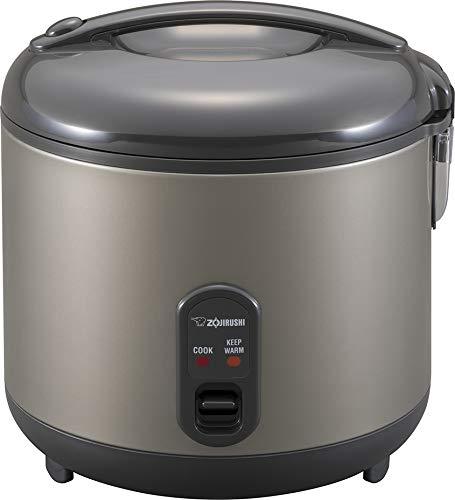 Zojirushi Rice Cooker and Warmer, 1.8-Liter, Metallic Gray