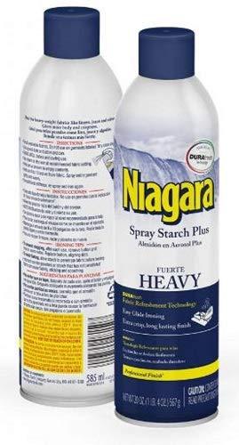 Niagara Niagara Spray Starch Plus, Heavy, 20 Oz