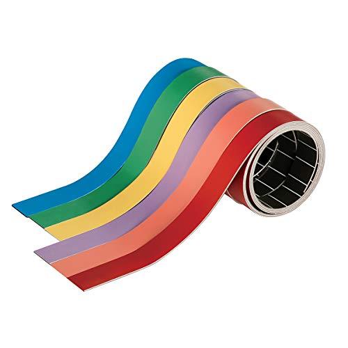 magnetoplan® Bande magnetoflex® - longueur rouleau 1000 mm, largeur 10 mm, lot de 10 rouleaux - vert - Aimant d'affichage Aimants d'affichage Bande magnétique Bandes magnétiques Ruban magnétique