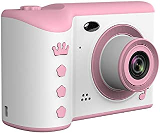"DishyKooker Children's Camera 2.8"" Full HD Screen Digital Camera Dual Lens 18MP for Kids Birthday Gifts Pink"
