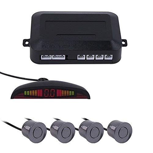 Great Deal! Gray, China : Wholesale ! Sensor Kit with 4 Sensors Car Auto LED Display for All Cars Re...