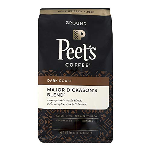 Peets Coffee Major Dickasons Blend Dark Roast Ground Coffee 20 oz