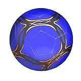 SENFEISM Soft Football Youth Fútbol Tamaño 4 Pvc Tela Alta Resistencia al aire libre Profesional Entrenamiento Balón de Fútbol