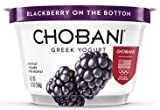 Chobani, Nonfat Greek Yogurt, 5.3 oz (Blackberry 0%)