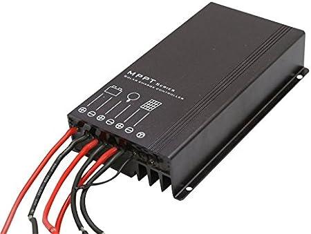 MagiDeal Intelligent MPPT Boost Solar Charge Controller Panel Regulator 48V-72V IP30
