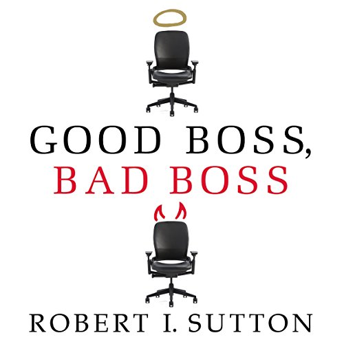 Good Boss, Bad Boss audiobook cover art