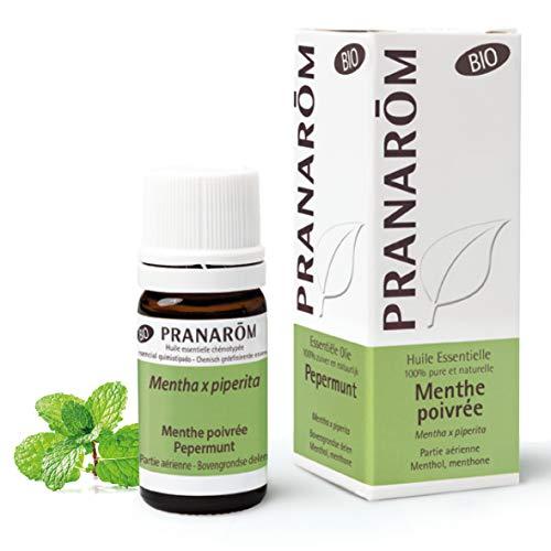Pranarôm - Huile Essentielle de Menthe Poivrée Partie Aérienne Bio - 10 ml