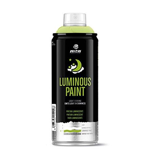 Montana Colors MTN Pro Pintura Fotoluminiscente Base Agua, Spray 400ml