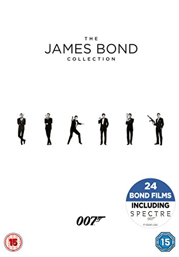James Bond Collection [DVD] [2017]