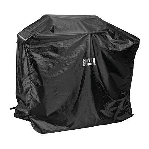 Mayer Barbecue, Grillabdeckung, Grill Abdeckhaube, schwarz, 160 x 80 x 105 cm, wetterfest