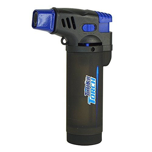 Turbo Blue XXL Jet Flame Refillable Torch Lighter with Powerful...