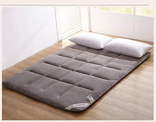 MWPO Padded tatami flannel mattress with elastic bands, 1.5 x 1.8 m coral Padded slip-B mattress 120 x 200 cm